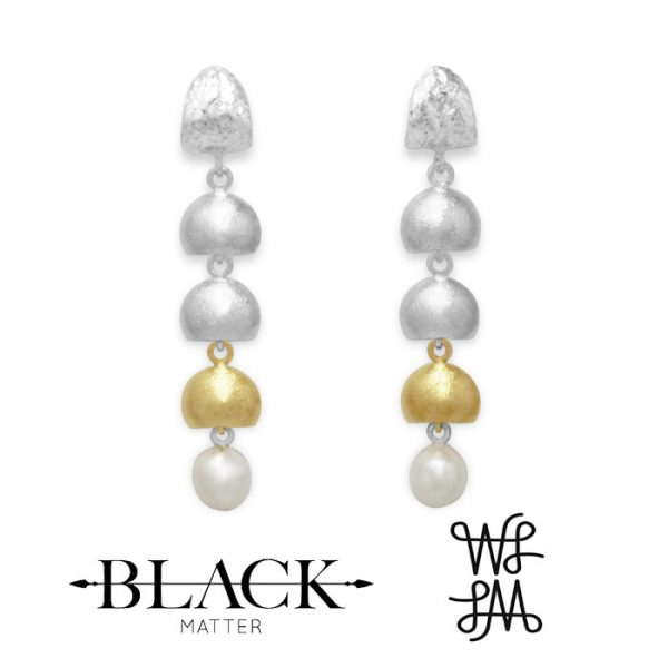 Local Palette Arctic Drop Earrings by Black Matter