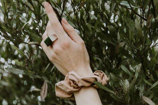 Models wearing the Pounamu Ring by Black Matter