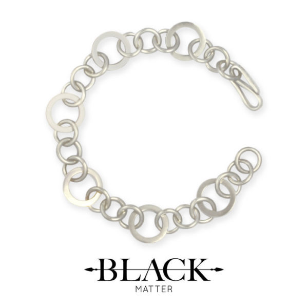 The Round Link Bracelet from the Forte Collection by Black Matter