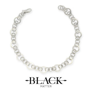 The Round Link Necklace from the Forte Collection by Black Matter