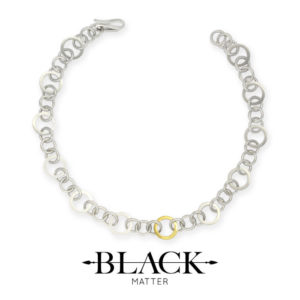 The Round Gold-Link Necklace from the Forte Collection by Black Matter
